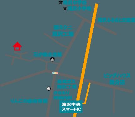 PIRICAアクセスマップ